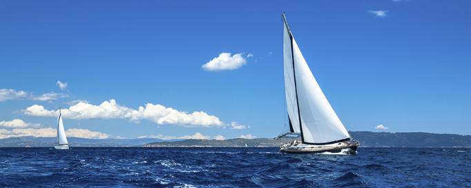 Segeln Ärmelkanal: Segelboote