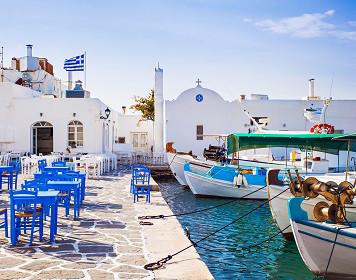 Anlegestelle in einem griechischen Fischerdorf