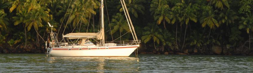 Die Atanga in einer Bucht