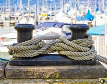 Charter-Rücktrittsversicherung: Seemannsknoten zur Sicherung