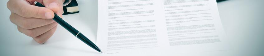 Charter-Rücktrittsversicherung: Vertrag unterschreiben