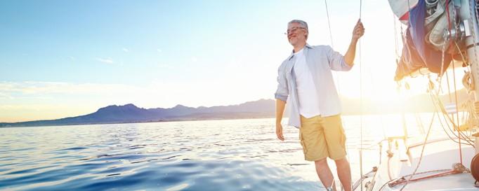 Charterpartner: Skipper an Bord