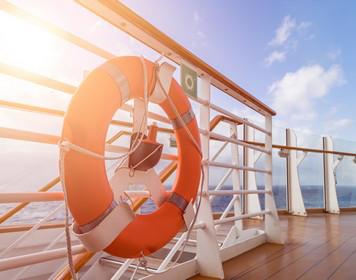 Rettungsring: Wichtig beim Mann-über-Bord-Manöver