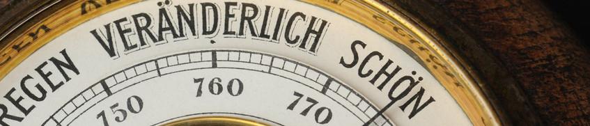 Wetter beim Segeln: Barometer