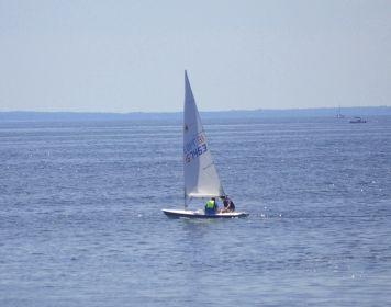 Daysailer -kurze Trips auf See