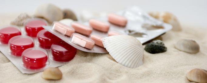 Tabletten gegen Seekrankheit