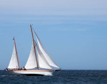 Mitsegeln: Boot auf See