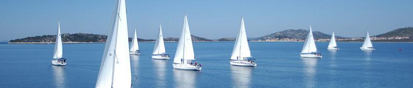 Mitsegeln: Segelbootflotte