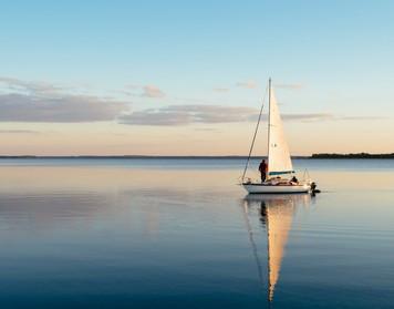 praktische Prüfung für den SBF See