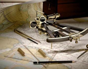 Benötigte Navigationsinstrumente für den Sporthochseeschifferschein
