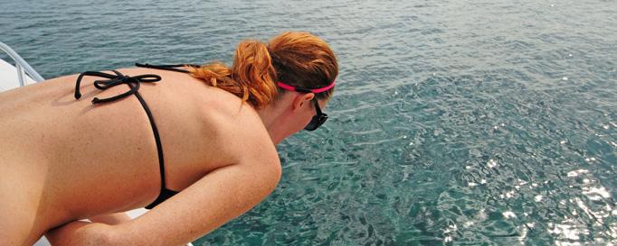 Seekrankheit: Seekranke Frau