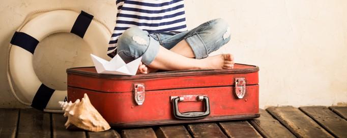 Gepäck auf See