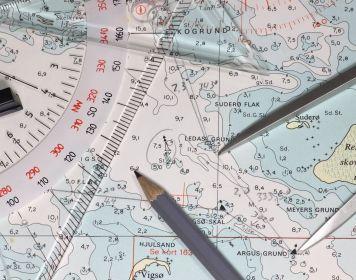Segel-Navigation: Seekarte & Navigationsbesteck