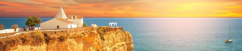 Sonnenuntergang Segeln Algarve