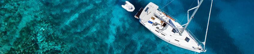 Segeln an der Küste der Toskana