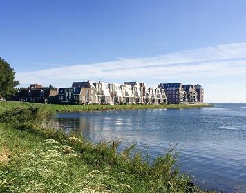 Küste am IJsselmeer
