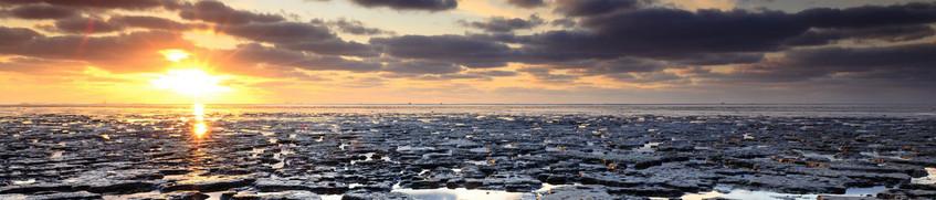 Segeln Wattenmeer: Panorama