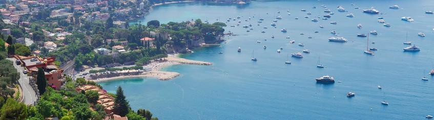 Segeln Cote D'Azur: Panorama