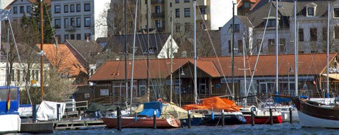 Segeln Flensburger Förde: Anlegestelle