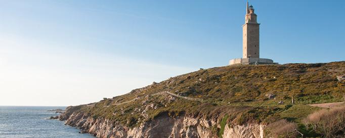Herkulesturm: Segeln in Galizien