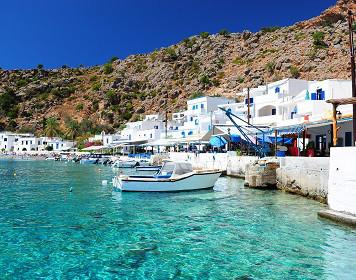 Segeln in Griechenland: Anlegestelle