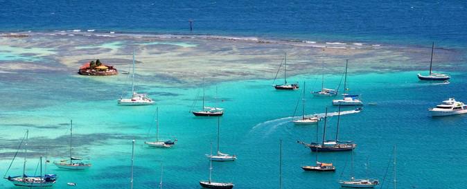 Segelschiffe in der Karibik