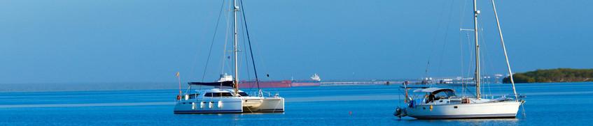 Segeln Kuba: Segelboote bei Cienfuegos