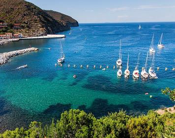 Bucht in der Toskana