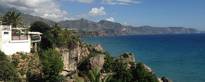 Segeln Spanien: Felsenküste
