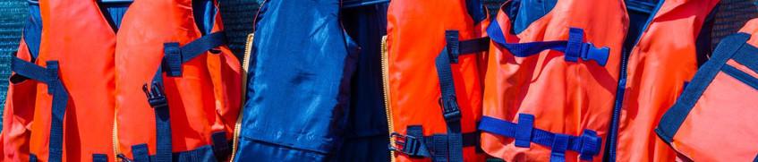Rettungswesten - Zur Sicherheit auf dem Wasser