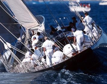 Segelkommandos für die Crew