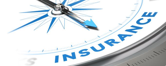 """Skipperhaftpflicht: Kompassnadel zeigt auf """"Insurance"""""""
