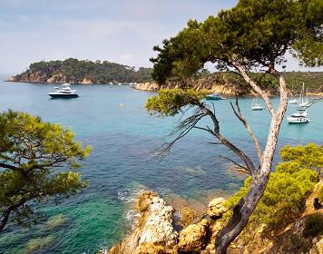 Bucht in Frankreich