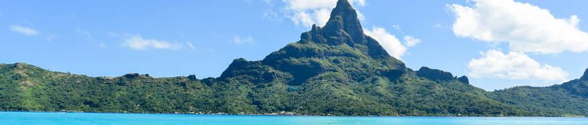 Segeln vor Bora Bora